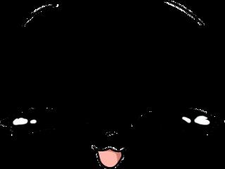 kawaiiface gachaface eyesclosed kawaii face kawaiicute cuteface chibiface freetoedit
