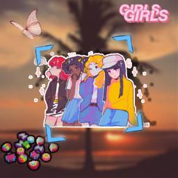 southpark girls southparkgirls freetoedit