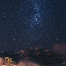 galaxy sky star stars background freetoedit