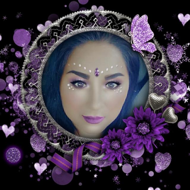 #framesticker #frame #purple #morado