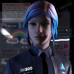 lifeisstrange lifeisstrangeedit chloeprice chloeelizabethprice detroitbecomehuman jeuxvideos videosgames freetoedit