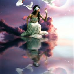 freetoedit surreal mirror heypicsart inspiration