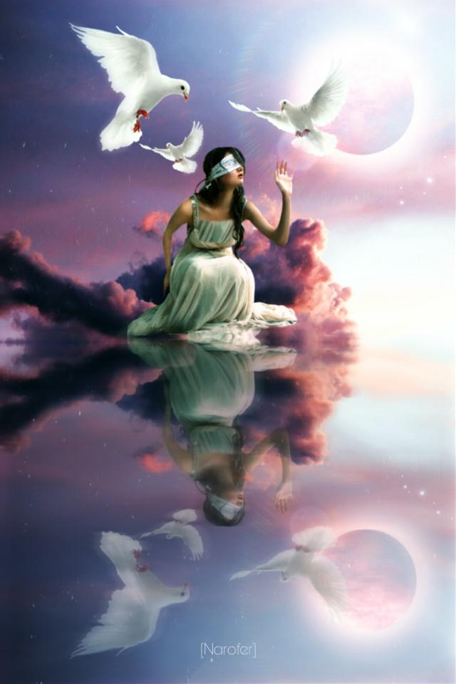 #surreal #mirror #heypicsart #inspiration #creative #moon #picsarteffects  #madewithpicsart #myedit