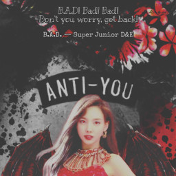 vampire nayeon twice halloween bad badsong badblood badbloodalbum blood tryitout dark replayed heypicsart makeawesome wings costume sprinkle scary quote quotes background red black aesthetic freetoedit