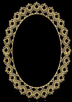 frame ovalado freetoedit