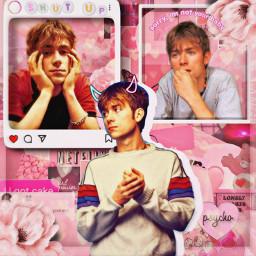 gorillaz blur damonalbarn damon edit bluredit damonalbarnedit pink aesthetic meme blurband pinkaesthetic edits idkwhatelsetohashtag freetoedit