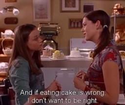 gilmoregirls gilmore gilmoregirlsforever cake gilmoregirlshumor gilmoregirls4life
