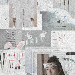 theuntamed lanzhan wallpaper aesthetic white freetoedit