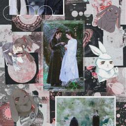theuntamed wangxian lanzhan weiwuxian love walppaper aesthetic freetoedit