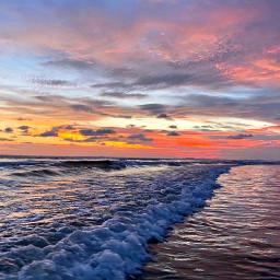 sunset cloudsandsky skylover naturephotography clouds beach hometown freetoedit