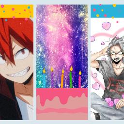 happy late birthday tetsutetsu kirishima freetoedit