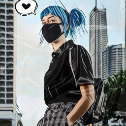 freetoedit cartoon cartoonify magic magiceffect magiceffects anime animegirl animeedit ripplemask