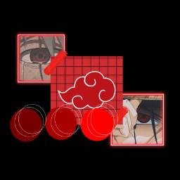 kakashi itachi akautski red black sharingan freetoedit