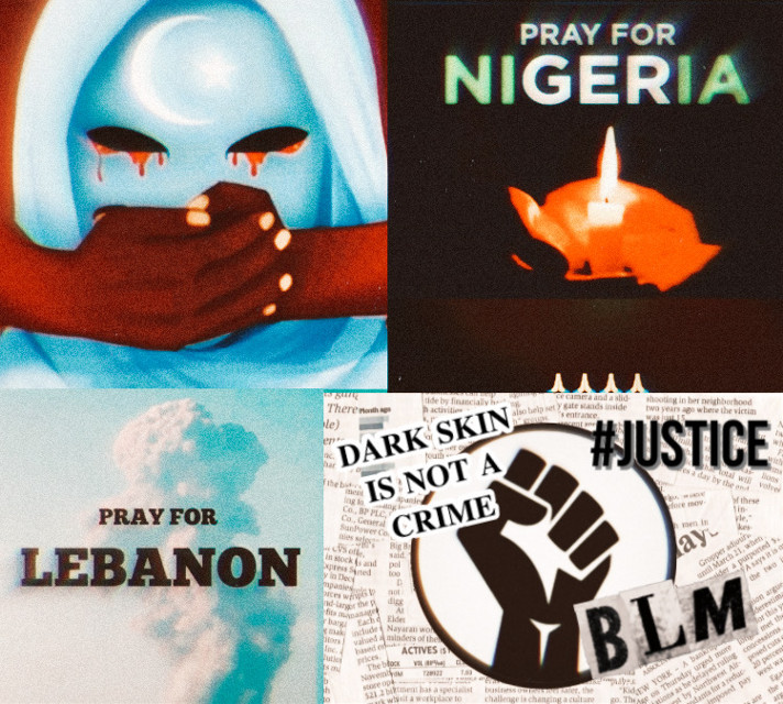 First of all these are not trends. These are real events taking place in the world right now. These are real things that are going on. Feel free to research more about these topics. It's good to know more about them. #BLM #nojusticenopeace #letourvoicesbeheard #praylebanon #prayforNigeria #MLM #freetoedit