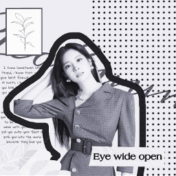 twice twicedahyun kpop girlgroup blackandwhite