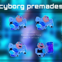 freetoedit remixit helpacc cyborg cartoonnetwork teentitans teentitansgo premades stickerpack