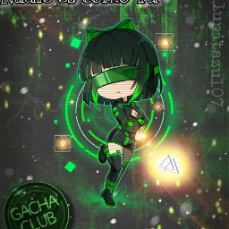 verde💚 gacha gachalife gachalifeedit gachaedit gachaclub gachagirl gachastudio gacha_life frases frase poderosa poder power powergirl freetoedit verde