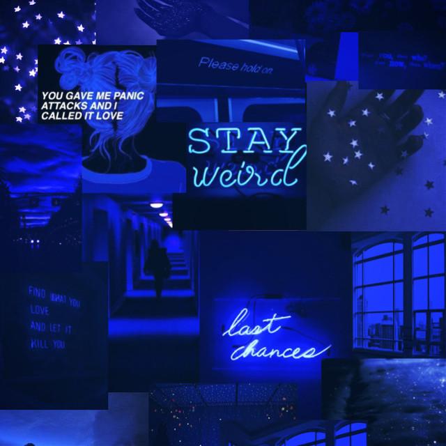 #blue #blueaesthetic #aesthetic #bluesky #darkblue