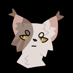 cat fluffy linelessart linelessdrawing digitalart catart art
