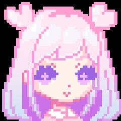 pink kawaii pixel freetoedit