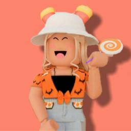 roblox robloxedit robloxedits robloxgirl robloxgirls robloxart robloxgfx robloxgfxedit girl girls gfx gfxedit halloween orange laranja laranjado cute beautiful happy felicidade felicidad alegre alegria feliz hat freetoedit