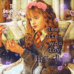 hermione harrypotterlove picsart hogwartsschoolofwitchcraftandwizardry freetoedit