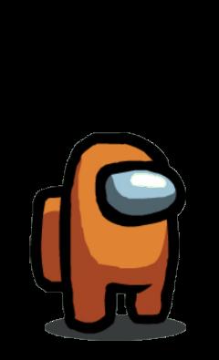 amongus orange beastjsmooth_yt freetoedit