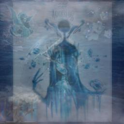 zodiac zodiacsign zodiacsigns astrological astrologicalsign astrologicalsigns aquarius aquariussign aquariussymbol rain water ocean deepsea drowning aesthetuc waterdragon serpent blue freetoedit emotions
