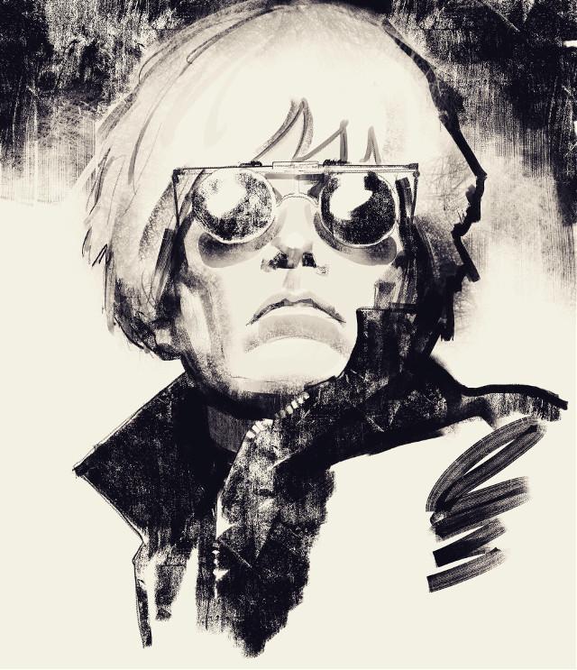 Andy Warhol  #punksy