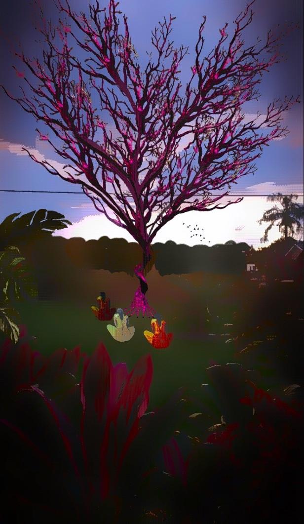 #NakedYoga #ElNaturalInNature #TreeOfLife #PicsArt #MadeWithPixlr #ElvyraJones #ClownSinnerSaint #ClassicMissgenie54