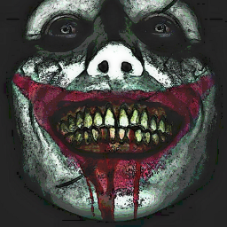 freetoedit remixit madewithpicsart joker dccomics dc dceu clown jolly joaquinphoenix jaredleto heathledger thedarkknight batman comics smile crazy blood pale makeup chalk scars scary horror monster