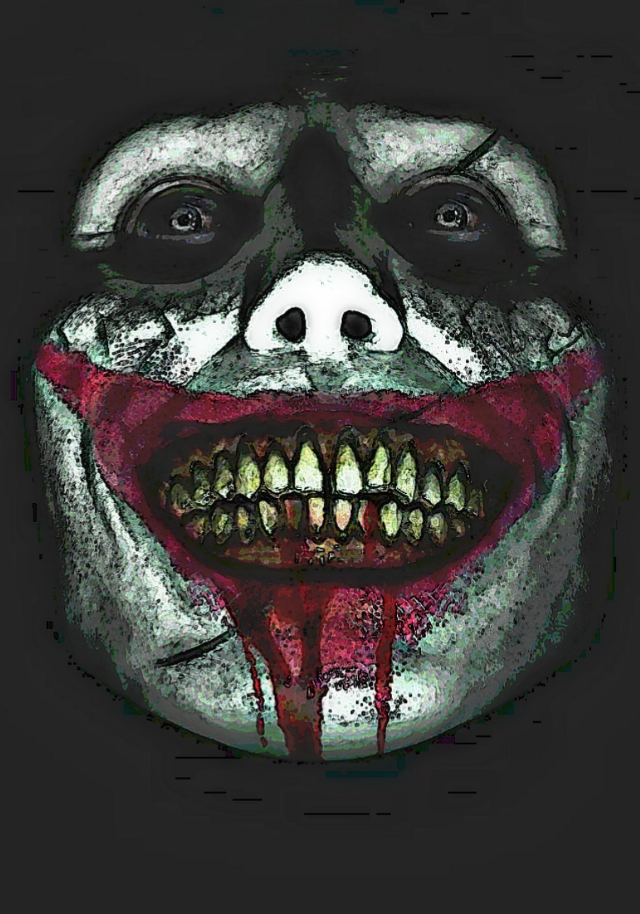 #freetoedit #remixit #madewithpicsart #joker #dccomics #dc #dceu #clown #jolly #joaquinphoenix #jaredleto #heathledger #thedarkknight #batman #comics #smile #crazy #blood #pale #makeup #chalk #scars #scary #horror #monster