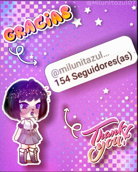 😍 GRACIAS a las 154 personiitas que me siiguen. No pense que llegariia a más se 100 😁 Estoy contenta por eso. Seguiire haciiendo esto que me gusta. Graciias por el cariiño 😙❤ 👸 Milú ------------------------- 😍 THANKS to the 154 people who follow me, I didn't think it would reach more than 100 😁, I'm happy about that. I will continue doing this that I like.  Thanks for the love 😘❤ 👸 Milú 🎀 - @charlildamelioo_  @_juli_edits_  @iloveseriesuwu  @altea204  @azaelia22  @peach_4love  @elizabetchs  @anapollis21 @onlyeasterlinq @nishi_kimxx @the_umbrella-academy @anto_2012arr @ticianeo795 @vibeschar  @analuizaleite32 @sofynirvana281 @noseeditarxdd @marianamartnez219 @chtpx_  @biiziinha @yeraldine.yamile. @elsie_h15 @evelynrojas615 @silviacervantes106 @karla_s13 @mabague28 @jeny0107 @susanamaldonado399 @20rodriguezlaura1 @chipotitosvidal @katherinefelix455 @kallheeuribesimons @xoxo_editst @inesfel_ipatomas @karlamendoza340 @laraailingarcia @karla_edit_72 @veronicagachalive @bnana_milk @praqnome_ @laurendaporg @anime_girl_fan1 @djilaliebouananie @dana_amix3 @laproo2009 @josepro23crak234 @kiaritis2 @myaaanddmyaa @stariut_lar_ @xxkittymeowxx @kimrose254 @cami_anime @errorkawaii1230 @worthrose_ @rebecasantos825 @esmeraldacontreras936 @sonjailamoreno7 @donutella2009 @fernandaapercindaape @feullet.rose @animegirlediter @esmeraldamk97 @moonlight_woof @gachaeditsormore @bts_anims_world @fans_sakura @anakaren2344 @xxcherryblxssomxx @mario923valero @frenchfriesuwu @this_rat_dose_edits @sophiagg300871 @edit_fer @hugoo2009 @d03de8029976a187f26f @chochonita62 @luchileguizamon2011  @softgirlarabella @copito_sofx @emaortiziturbe1 @charlidameliofoto @vanesafec20103 @victorializarragamol @alvaradomondragon @caesinup0qf83kkw48hg @editsdetudon @lolomalhas332 @ninjakarting203 @edits_de_todo_296 @cherry_soup @cutiemari_cak3 @rosiyuyu @anghella_08 @nicmelsan08 @unicorngirl096 @martina_grace_2009 @sabrin888 @lalila06 @evelyncui4 @123453986 @anisahsiti8 @mbeto7852 @addi_dounut10 @hellokitty120987 @a