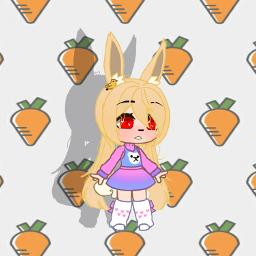 freetoedit gachasoftgirl gachasoftie gachacutie carrots4life