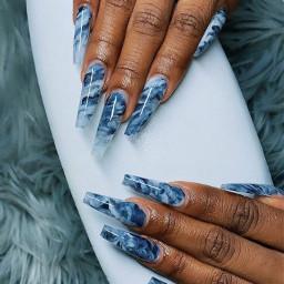 blue bluenails nails nailz nailsart nailswag nailspassion nailsdesign nailsnailsnails nails2inspire nailstyle screenshot snapchat nailtutorial