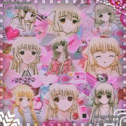 chii chi chobits manga mangagirl anime animegirl edit complexedit complex pink pastel oddcore fairykei decorakei cybercore webcore animecore dereality kawaii kawaiiedit lovecore draingang freetoedit