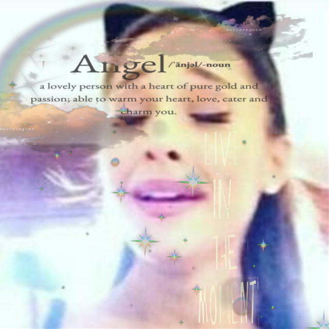 Iive in the moment #arianagrande