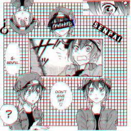 redbloodcell anime aesthetic manga cellsatwork hatarakusaibou ae3803