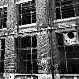 blackandwhite urbanphotography abandoned architecture oldbuilding