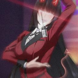 yumeko yumekojabami anime kakegurui gambling gamble freetoedit