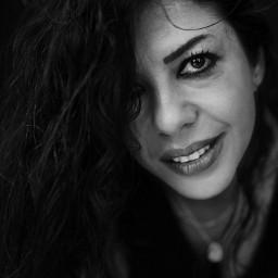 portrait portraitphotography bw bnw blackandwhite woman beautifulwoman freetoedit