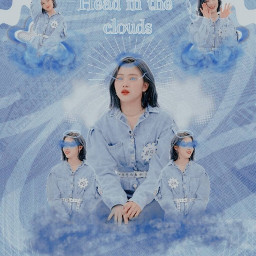 chae_round2 chae_round2 @chae_berry ~ ryujinitzy itzyryujin shinryujin ryujinedit itzyedit ryujinshin midzyitzy clouds blue