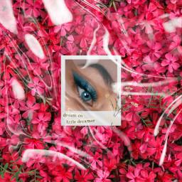 freetoedit eyes flowers