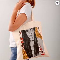 drawing draw woman bag redbubble shop shopping