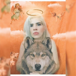 lover wolf girl woman witch cool picsart filter colors wow😍 funny verynice goodmorning goodnight askme instagram freetoedit wow