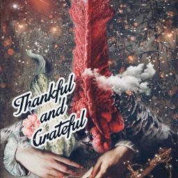art fantasy turkey happythanksgiving stickers thankful grateful dreamy magical stestyle ste2020 wildworld collection madewithpicsart love