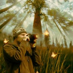 freetoedit mastershoutout magicalforest nature glowingbutterfly