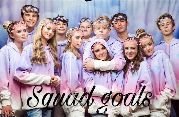 Squad goals comment ur favorite emoji #freetoedit #squadgoals #piperrockelle #symonneharrison #clairerocksmith #jennadavis #emilydobson #rubyrose #aydenmekus #jentzenramirez #connorcain #levcameron #donlad #sawyersharbino