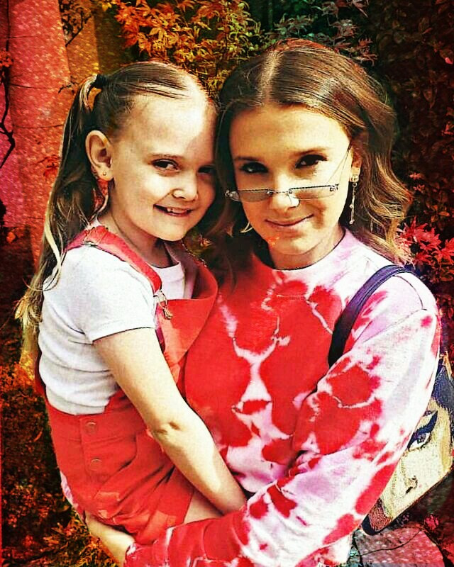 #MillieBobbyBrown #AvaFlowElisaBrown #Sisters #Perfects #Girls