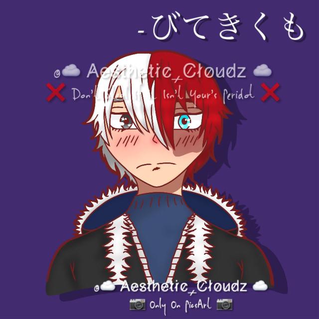 Todoroki! #とどろき #mychild #MHA #BNHA #FanArt #Todoroki #Shoto #ShotoFanArt #AnimeArtStyle #MyArtDontSteal #Aesthetic-Cloudz #びてきくも #A-C